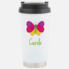 Carole The Butterfly Stainless Steel Travel Mug