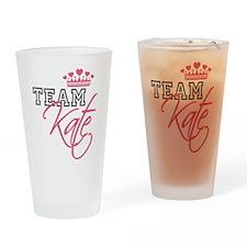 Team Kate Royal Crown Drinking Glass