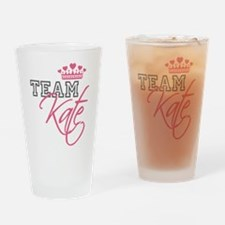 Team Kate Royal Crown Drinking Glass