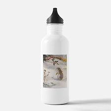 1927 Christmas Bunny Water Bottle