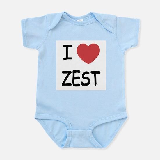 I heart zest Infant Bodysuit