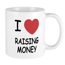 I heart raising money Mug