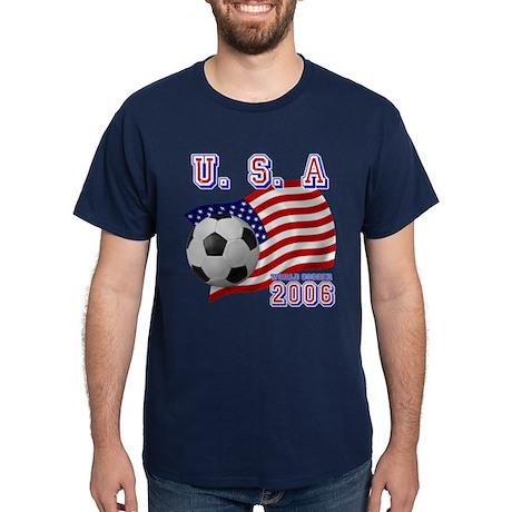 U.S.A World Soccer 2006 Dark T-Shirt