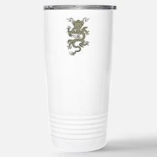 Quianlong Dragon Carved Travel Mug
