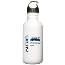 NCIS Gibbs' Rule #16 Water Bottle