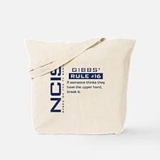NCIS Gibbs' Rule #16 Tote Bag
