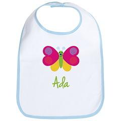 Ada The Butterfly Bib