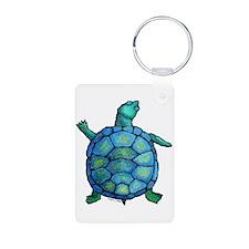 Blue Turtle Boogie Keychains
