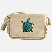 Blue Turtle Boogie Messenger Bag