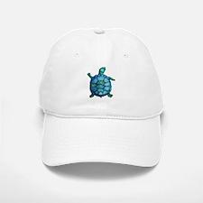 Blue Turtle Boogie Baseball Baseball Cap