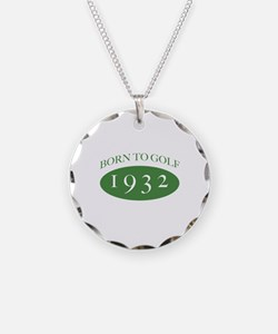 1932 Born To Golf Necklace