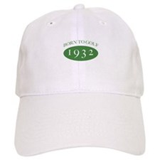 1932 Born To Golf Baseball Cap