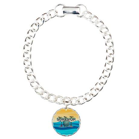 Survivor San Juan Charm Bracelet, One Charm