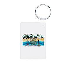 Survivor San Juan Keychains