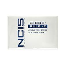 NCIS Gibbs' Rule #2 Rectangle Magnet