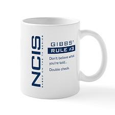 NCIS Gibbs' Rule #3 Mug
