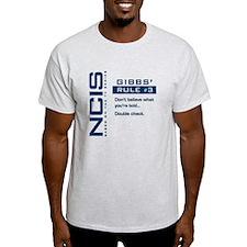 NCIS Gibbs' Rule #3 T-Shirt