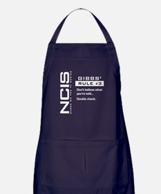 NCIS Gibbs' Rule #3 Apron (dark)
