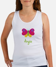 Angie The Butterfly Women's Tank Top
