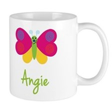 Angie The Butterfly Small Mugs