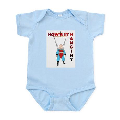 How's it hangin? Infant Creeper