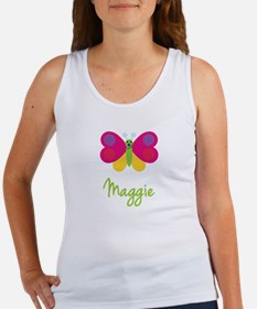 Maggie The Butterfly Women's Tank Top