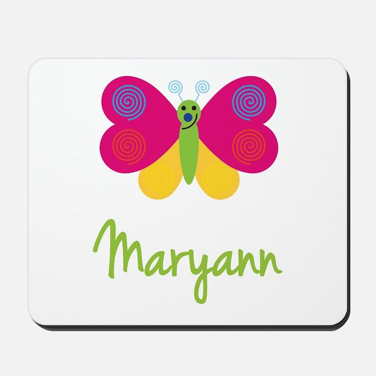 Maryann The Butterfly Mousepad