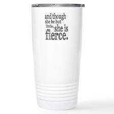 She is Fierce Shakespeare Travel Mug