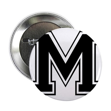 Varsity Letter M Button