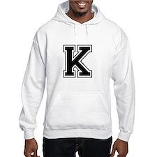 Varsity Letter K Jumper Hoody