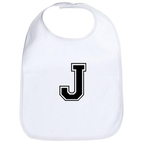Varsity Letter J Bib