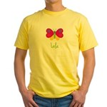Lola The Butterfly Yellow T-Shirt
