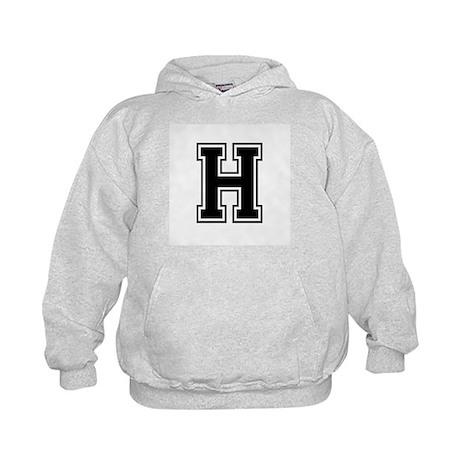 Varsity Letter H Kids Hoodie