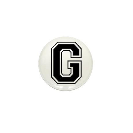 Varsity Letter G Mini Button