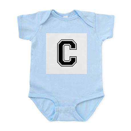 Varsity Letter C Infant Creeper