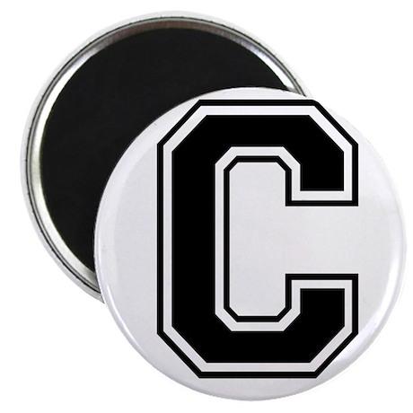 Varsity Letter C Magnet