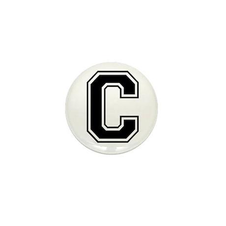 Varsity Letter C Mini Button