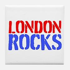 London Rocks Tile Coaster