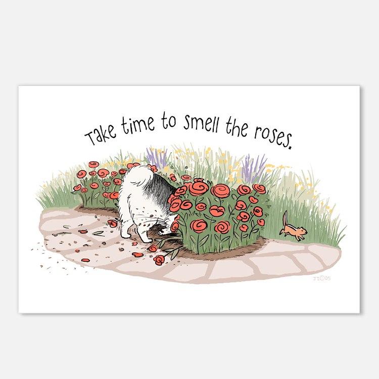 The Fuzz Butt Gardener Postcards (Package of 8)