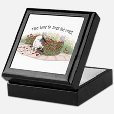 The Fuzz Butt Gardener Keepsake Box