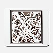 Celtic Letter X Mousepad