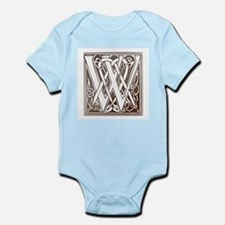 Celtic Letter W Infant Creeper