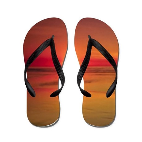 Sunset Beach Flip Flops