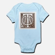 Celtic Letter T Infant Creeper