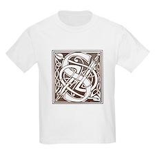 Celtic Letter S Kids T-Shirt