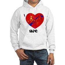 Splatter heart Hoodie