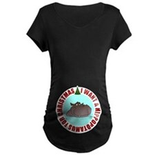 Hippo for Christmas T-Shirt