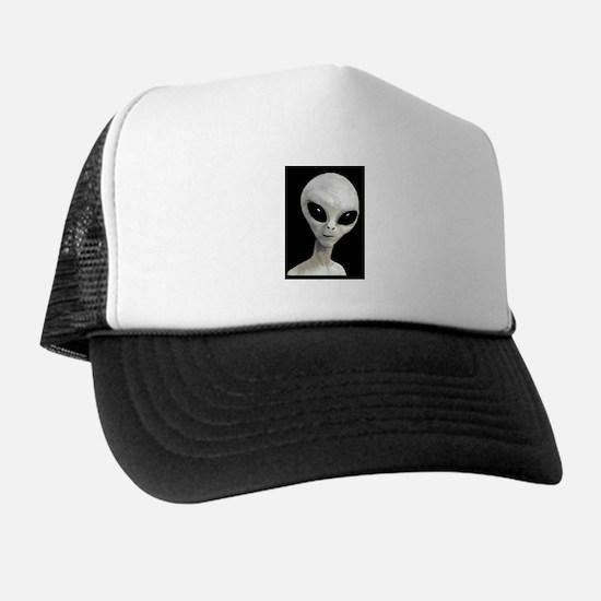 Grey Alien - Trucker Hat
