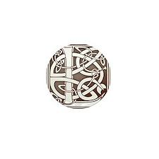 Celtic Letter L Mini Button