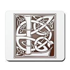 Celtic Letter L Mousepad